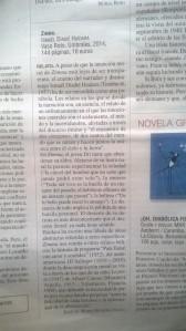 resena Zimma_Vaso Roto_Le Monde Septiembre 2015